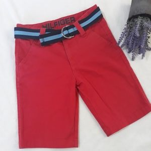 Tommy Hilfiguer short pants with belt